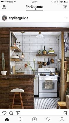 After: The Kitchen Corner - Before After: A Small Space Makeover in Downtown Manhattan - small spaces. Kitchen Dining, Kitchen Decor, Kitchen Ideas, Space Kitchen, Cozy Kitchen, Kitchen White, Kitchen Wood, Vintage Kitchen, Kitchen Small