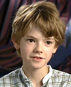 I believe Thomas Brodie-Sangster would be the perfect actor to play small Sam. He is very small and just resembles a very child like person. He also has very light, messy hair which is exactly how Sam's hair was described.