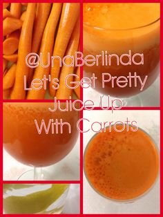 "Let's Get Pretty: Juice Up With Carrots This ""beta"" be tasty! #getpretty #goodfood #getfit #carrotjuice #prettyjuice #healthyday #healthylife #behappybehealthy #antiagingfoods #brainfood #focusfood #healthytuesday #fittuesday #eatyourwayhealthy #drinkyourwayhealthy #lovetobeme"