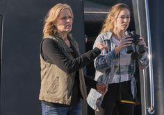 Madison Clark (Kim Dickens) and Alicia Clark (Alycia Debnam-Carey) in Episode 1 Photo by Richard Foreman/AMC