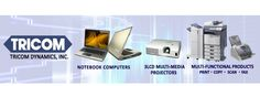 Tricom Dynamics offers products carrying the Toshiba and Hitachi brand such as digital copiers, facsimile machines, notebook PCs, projectors and scanners. Projectors, Business Website, Multimedia, Printer, Notebook, Digital, Phone, Products, Telephone