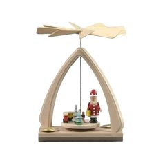 awesome Dregeno miniature pyramid - Santa with Small toy trainAlexander Taron Home Seasonal D Check more at http://christmasshortstory.com/product/dregeno-miniature-pyramid-santa-with-small-toy-train/