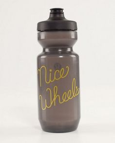 """Lululemon """"Nice Wheels"""" water bottle"""