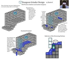 Image result for printable redstone blueprints
