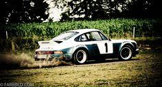 Walter Röhrl im Heigo Porsche 911 Rallye Drift