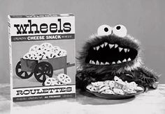 Cookie Monster predates the Sesame Street by 3 years. Jim Henson originally designed an early version of the character in 1966, for a cracker commercial.
