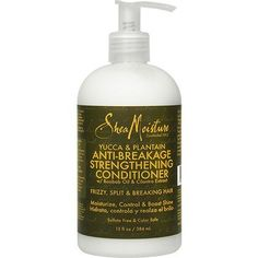 Shea Moisture Yucca & Plantain Anti-Breakage Strengthening Conditioner-12 oz Shea Moisture