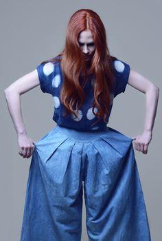 BOTANIKA: casual garments dyed with natural indigo