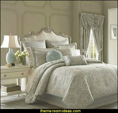 Decorating theme bedrooms - Maries Manor: Luxury bedroom designs - Marie Antoinette Style theme decorating ideas - French provincial furniture baroque style - Louis XVI furniture - Rococo furniture - baroque furniture