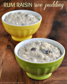 How to make Rum Raisin Rice Pudding Recipe
