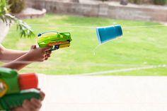 idée jeu pistolet à eau