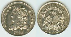 1832 half dime