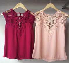 Sewing Blouses, Vogue, Denim And Lace, Fashion Sewing, Lovely Dresses, Casual Tops, Diy Clothes, Dress Patterns, Blouse Designs