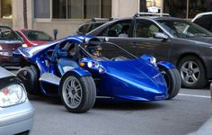 trex car | 2009 Campagna T-Rex: The Car That Is Two-Thirds Motorcycle