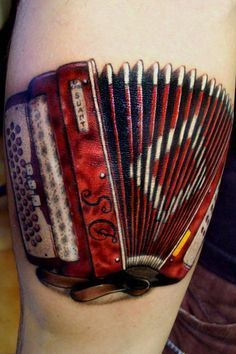 Image result for skull tattoo accordion