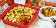 Makaronowa zapiekanka zwarzywami Fried Rice, Fries, Curry, Ethnic Recipes, Food, Curries, Essen, Meals, Nasi Goreng