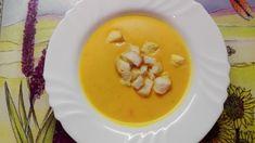 RECEPT: Pravá Hokaido polievka Thai Red Curry, Pudding, Eggs, Breakfast, Ethnic Recipes, Desserts, Soups, Kitchen, Ideas