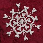 Ravelry: Century II Snowflake pattern by Deborah Atkinson Crochet Snowflake Pattern, Crochet Stars, Crochet Snowflakes, Thread Crochet, Crochet Motif, Crochet Doilies, Crochet Flowers, Crochet Stitches, Crochet Patterns
