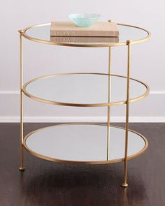Blythe Side Table at Neiman Marcus.