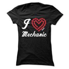 Awesome Tee I Heart Mechanic T-Shirts