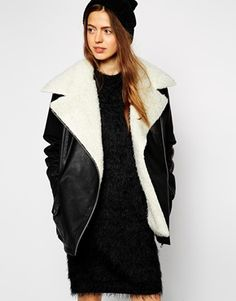 I can't really explain why but I always feel so drawn to anything 'biker'. There's something so badass about this style, which makes me want to stand out from the crowd and make a statement. Imagine this jacket with ripped skinny black jeans, a black turtleneck jumper, ankle boots and a red lippy? BOOM! http://asos.do/9SUlg9