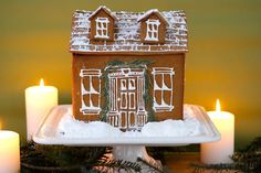Gingerbread house for beginners
