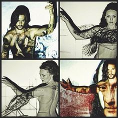 Da Vinci's Demons: Two days left for season 2 - Lucrezia (Laura Haddock) and Leonardo (Tom Riley)