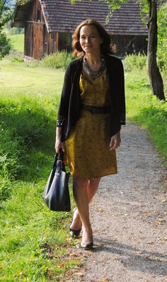 HOW TO RESTYLE FOR AUTUMN : PART 3 - SILKDRESS