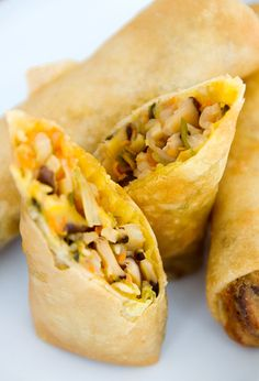 chinese spring rolls recipe | use real butter