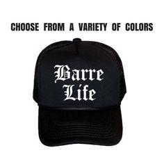 c12f920504d Barre Women s Trucker Hat. Barre Hat. Workout Cap. Exercise Hat. Ladies Gym  Baseball Cap. Barre Life