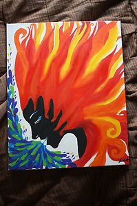 """""""Woman of Wind and Fire""""- 16""""x20"""" Original Oil Painting on Canvas-ONE OF A KIND! $99.99"""