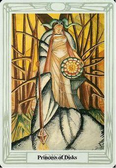 Crowley Thoth Tarot ► Princess of Disks