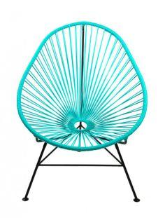 Lovely chair for inside and outside use. http://www.landromantikk.no/mamasita-stol-4895.html