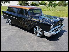 1957 Chevrolet Sedan Delivery  350/350 HP, 4-Speed #Mecum #Kissimmee #WhereTheCarsAre