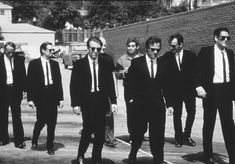 Reservoir Dogs (1992) Quentin Tarantino. Starring Harvey Keitel, Tim Roth & Michael Madsen. A stellar cast, action, violence, drama and great dialogue; everything you would expect from a Tarantino movie.