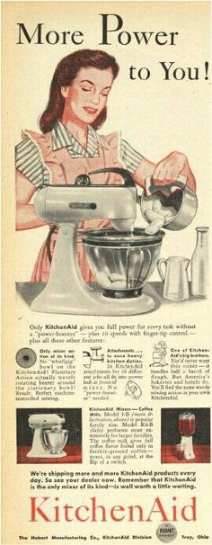 We've come a long way baby #vintage #kitchenaid