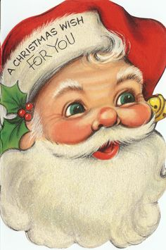 It is all about vintage Santa