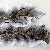 Бактус После грозы – купить или заказать в интернет-магазине на Ярмарке Мастеров | Мягчайший шарф-бактус (треугольной формы) свалян…