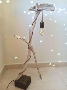 Lámpara con palos de playa Lighting, Home Decor, Home, Sticks, Lights, Decoration Home, Room Decor, Home Interior Design, Lightning