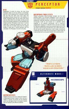 Transformers Universe - Gallery: G1 Perceptor