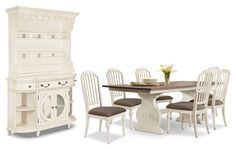 Dining Room Furniture - Hancock Park 9-Piece Dining Package