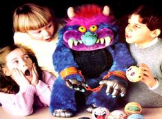My Pet Monster Plush Stuffed Animal 1980's toys dolls