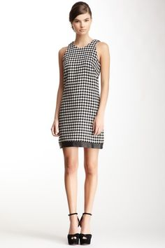 A.B.S by Allen Schwartz Herringbone Sleeveless Dress by A.B.S By Allen Schwartz on @HauteLook