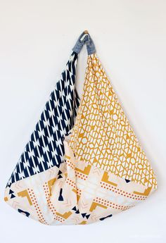 DIY: origami bento bag