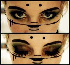 Loki Laufeyson Makeup by Emmaretta on DeviantArt Sfx Makeup, Cosplay Makeup, Costume Makeup, Beauty Makeup, Hair Makeup, Voodoo Makeup, Gothic Makeup, Fantasy Makeup, Makeup Inspo
