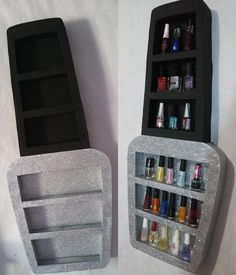 Best makeup storage bedroom nail polish ideas - Image 14 of 22