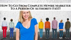 Being new to anything comes with a certain amount of challenges. Stepping into the world of on ==> http://blog.myleadsystempro.com/newbie-to-authority-fast/?id=thimopro <==