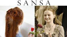 Game of Thrones Hair - Sansa Stark Hand's Tourney