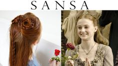 Game of Thrones Hair - Sansa Stark Hand's Tourney