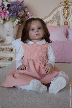 Купить Габриэлла - бежевый, габриэлла, gabriella, regina swialkowski, reborn baby, reborn, reborn gerl